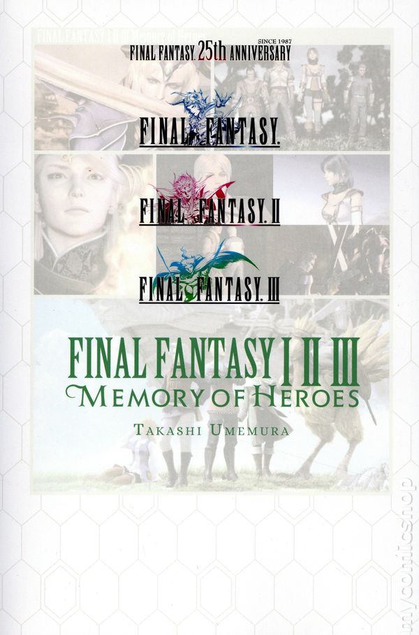 """""""Final Fantasy I.II.III: Memory of Heroes"""" will debut the official English translation"""