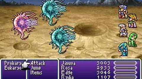 Final Fantasy IV Advance Summons- Bahamut