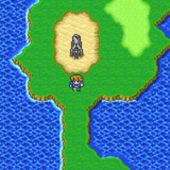The Fork Tower on the Merged World (GBA).