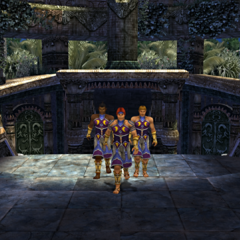 The Goers players appear in Kilika Temple.