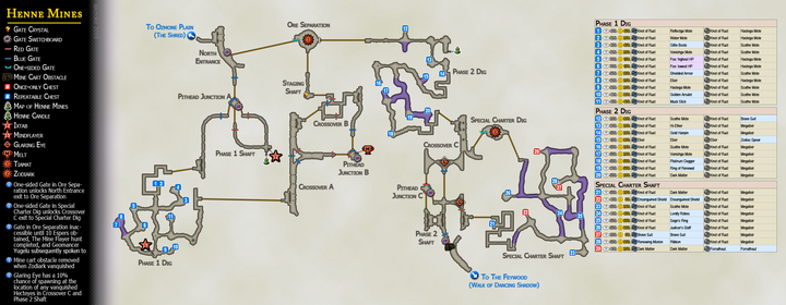 Map 15 Henne Mines