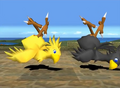 Tobal 2 Yellow & Black Chocobo.png