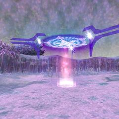 One of the three dimensional portals found in Al'Taieu that lead to the crags.