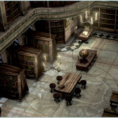 Concept artwork of the library.