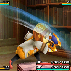 Attack with a Sword normally for a Clavat.