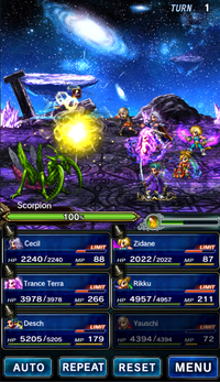 FFBE Diving Strike