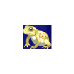 Toad portrait for Palom and Porom in <i>Final Fantasy IV</i> (PSP).