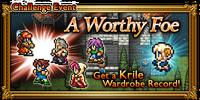 FFRK A Worthy Foe Event