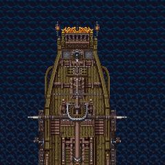 Faris's ship.
