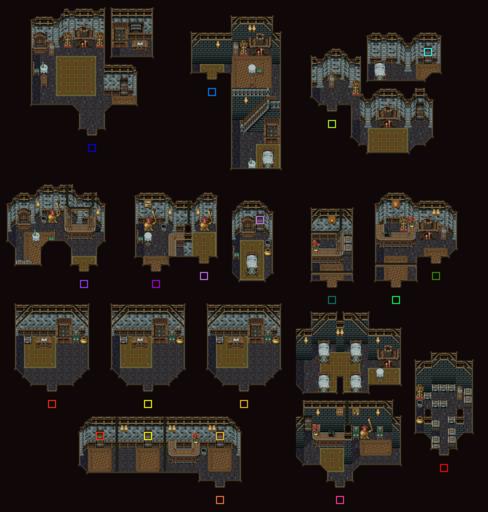 Narshe Town Interiors