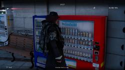 Vending machine in FFXV Episode Ardyn