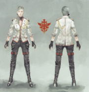 Aranea Highwind artwork from FFXV Dawn of the Future