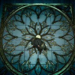 Орнамент на полу.