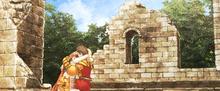 FFTiOS Ovelia Delita Chapel Ruins CG