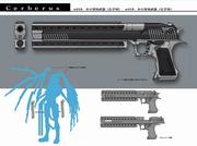 Nero Handgun Artwork