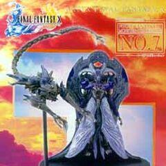 Digure da Monster Collection #7 de <i>Final Fantasy X</i>.