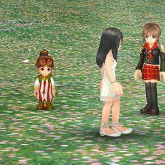 Angelo's appearance in a cutscene in <i>Dissidia Final Fantasy Opera Omnia</i>.