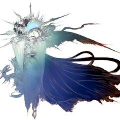 Концепт-арт логотипа <i>Final Fantasy Versus XIII</i>.