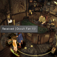 Occult Fan II location.