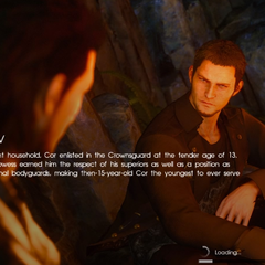 <i>Episode Gladiolus</i> loading screen.