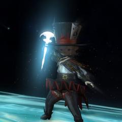 The Thaumaturge's weapon of light.