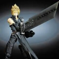 <i>Advent Children</i> action figure.