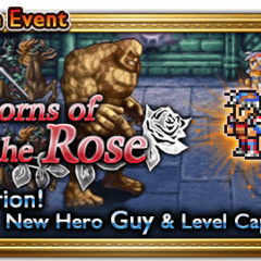 Global event banner for Thorns of the Rose.
