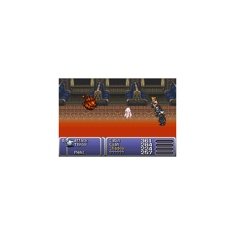 Possess in the GBA version.