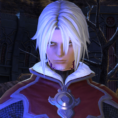 Thancred disguises as a Garlean soldier.