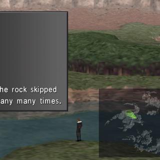 Skipped the rock many many times.