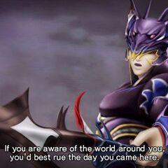 Kain in <i>Dissidia 012</i>.