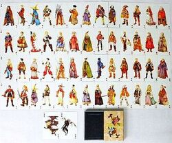 Final Fantasy Tactics Character & Job Playing Cards
