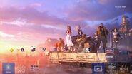 Final Fantasy VII Remake Dynamic Theme PS4