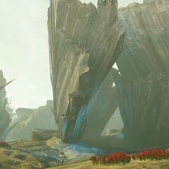 The remains of the pillar in <i>Lightning Returns: Final Fantasy XIII</i>.