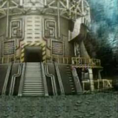 Реактор на горе Нибель в <i>Before Crisis -Final Fantasy VII-</i>.