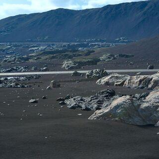 Вулканические пустоши у Раватога.