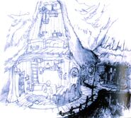 Black Mage Village FFIX Art 3