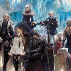 Artwork for the characters of <i>Shadowbringers</i>.