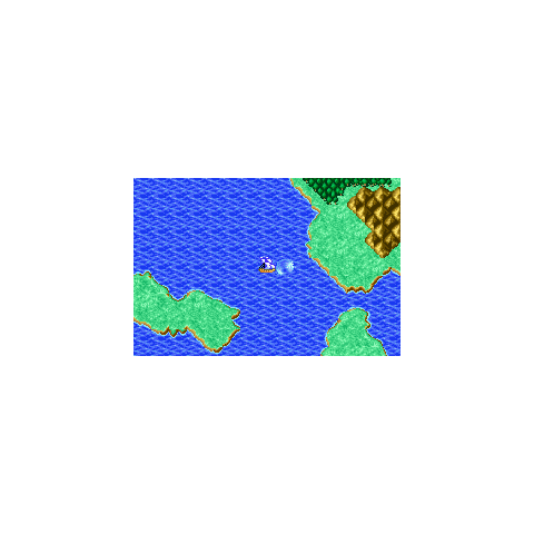 Lifespring Grotto on the World Map (GBA).