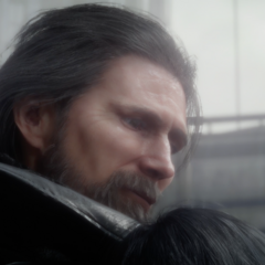 King Regis in the <i>Dawn</i> trailer.