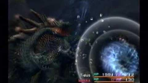 Final Fantasy X Boss - Geosgaeno