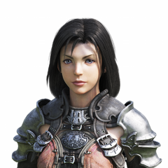 Female CG Midlander bust. One of the two