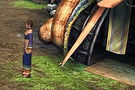 Lady outside first tent on the right - Final Fantasy X-2 hdRemaster