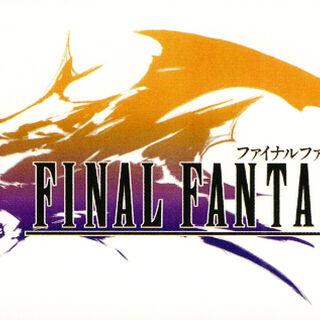 Первоначальный логотип, показанный в трейлере на Square Millennium Event. На нём можно разглядеть лицо Юны в анфас и воздушный корабль на фоне.