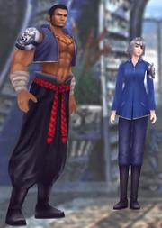 Raijin and Fujin from FFVIII Remastered