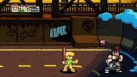 Scott Pilgrim The Game - Kupek Graffiti