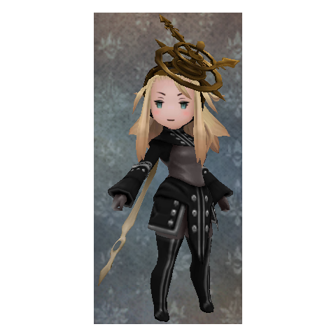 Edea as a Time Mage.