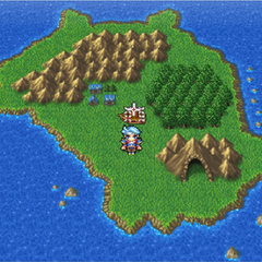 Mythril on the World Map in the <i>Complete Collection</i> version.