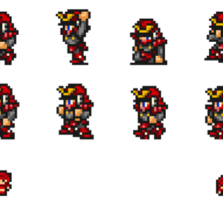 Sprites of the Samurai.