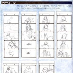 Storyboard for the proposal scene.